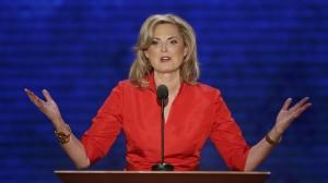 Ann Romney beszédet mond