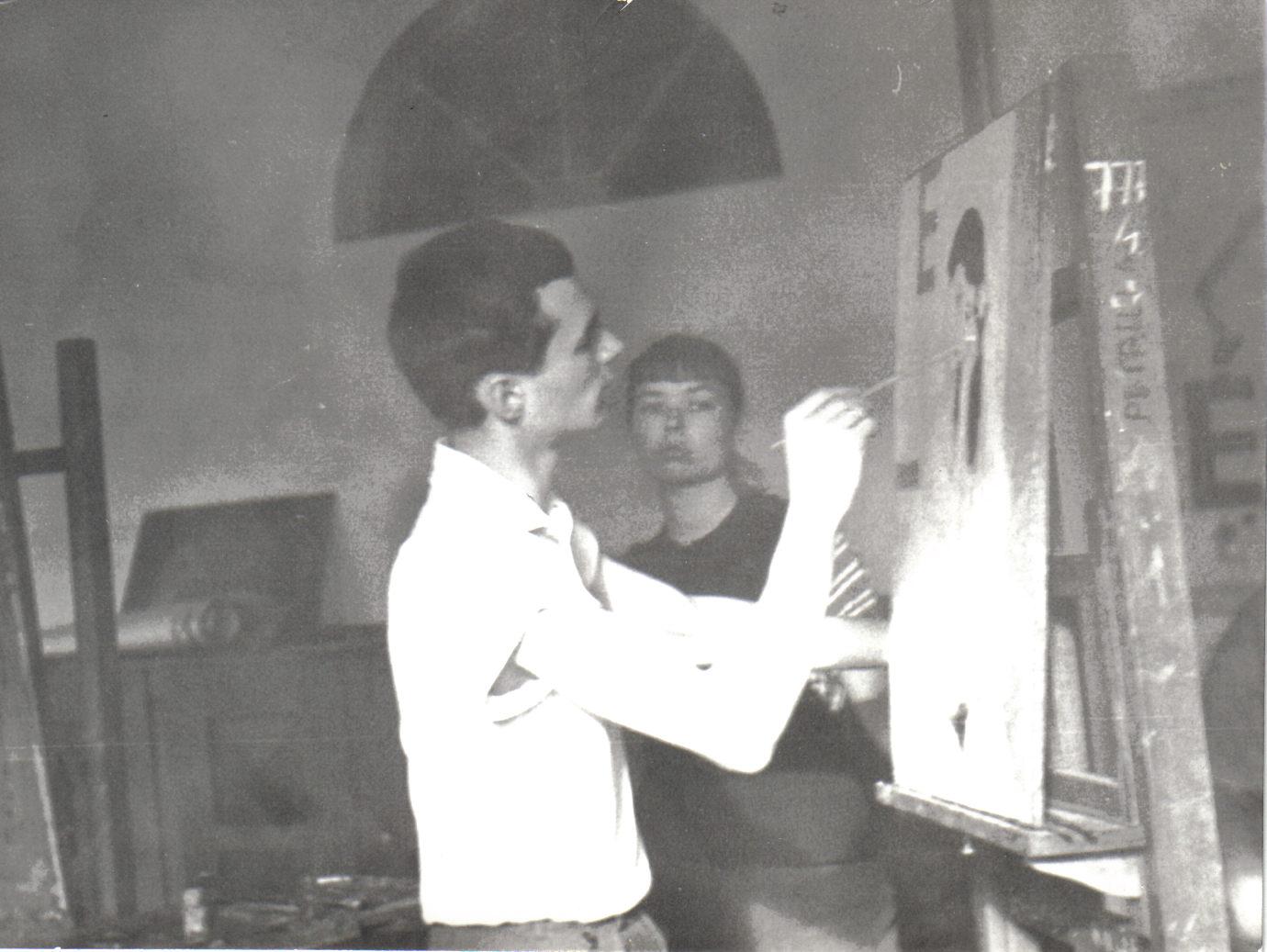 A festő szakon 1958 jan(3)