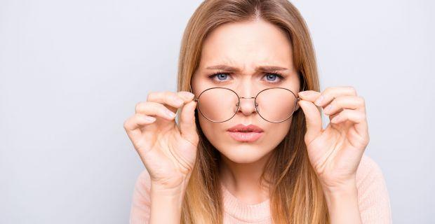 a látás éles romlásának okai