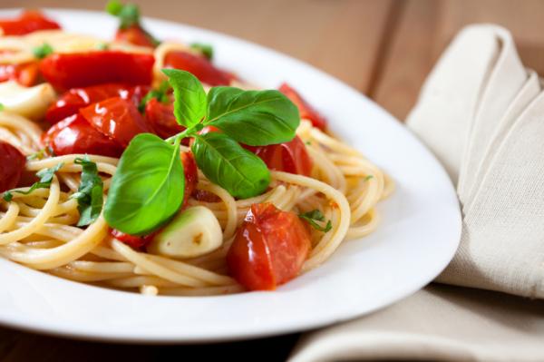 Szárított paradicsomos spagetti - Egészségséf