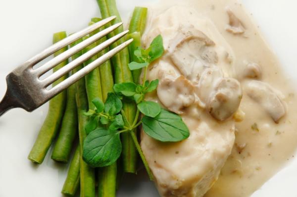 Mustáros-tárkonyos csirkemell - Egészségséf