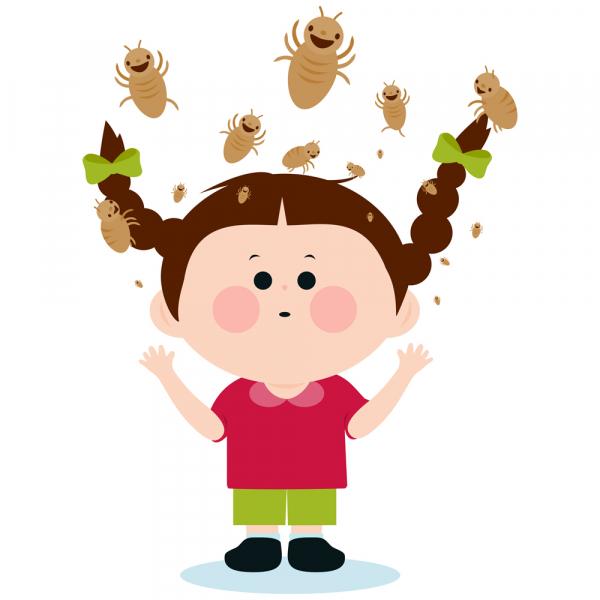 Segítség, mi mászik a gyerek fején?