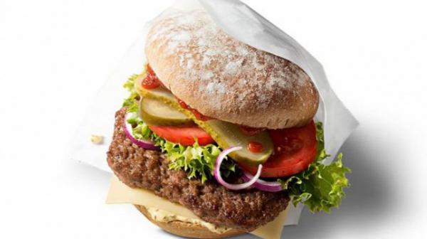 Bio hamburger a McDonald's-ban