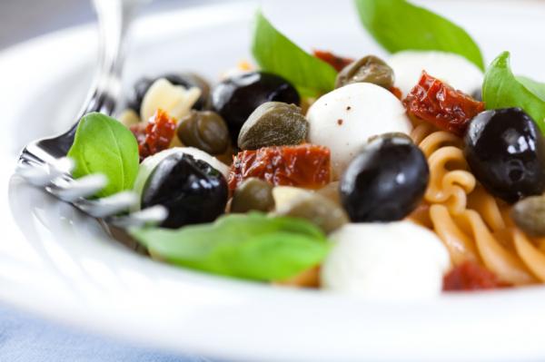 Mediterrán tésztasaláta - Egészségséfünk receptje