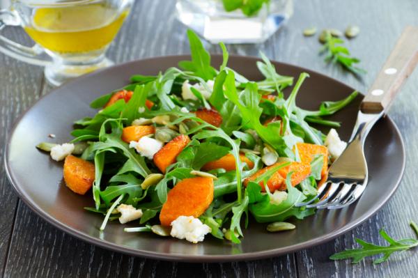 Sütőtök saláta - Egészségséfünk receptje
