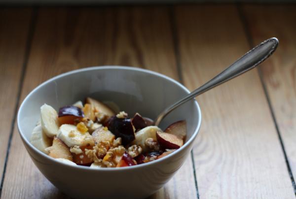 Szilvás müzli reggelire - Egészségséf
