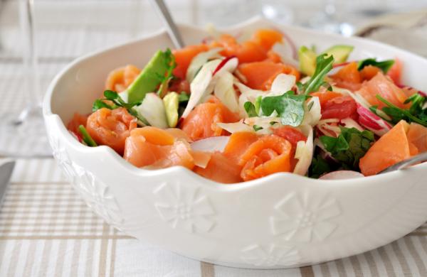 Lazacos vegyes saláta - Egészségséfünk receptje