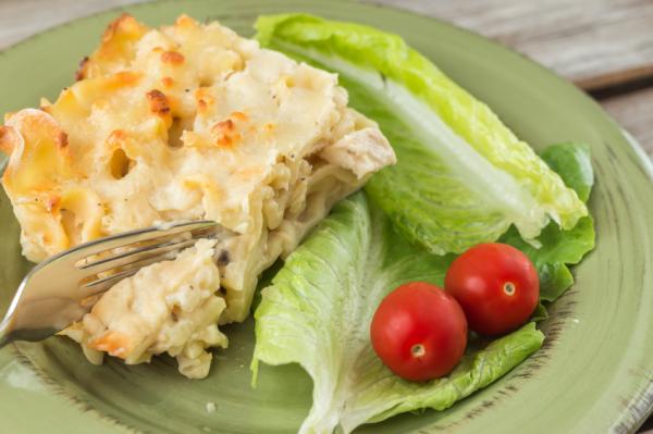 Csirkés lasagne - Egészségséf