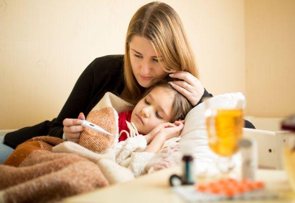 Hogyan marad anya egészséges, ha beteg a gyerek?