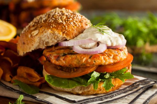 Lazac hamburger - Egészségséfünk receptje