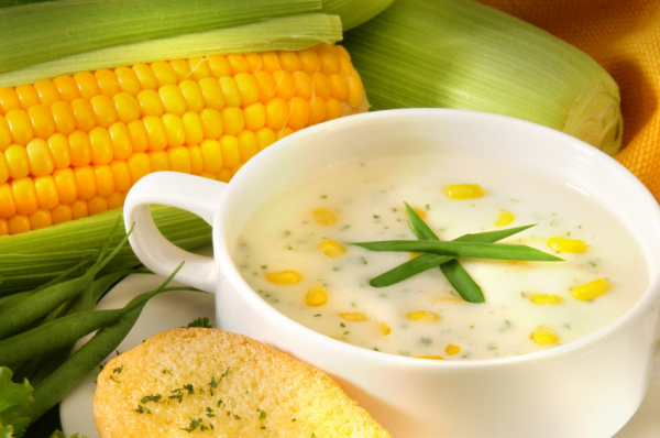 Kukoricakrémleves - Egészségséfünk receptje
