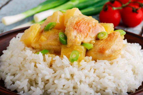 Csirkemell ananászraguval - Egészségséf