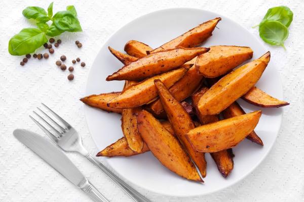 Fűszeres édesburgonya - Egészségséf