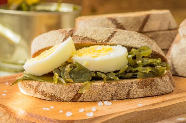 Tojásos szendvics böjti napokra - Egészségséf