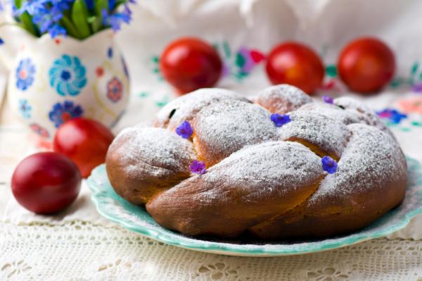 Mazsolás húsvéti kalács - Egészségséf