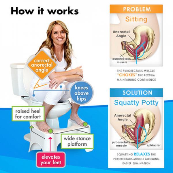 A póni tanácsa: ne ülj a vécén, guggolj!