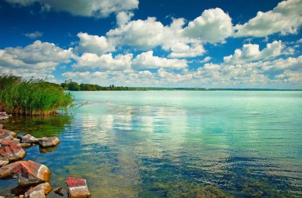Nagyon tiszta a Balaton vize