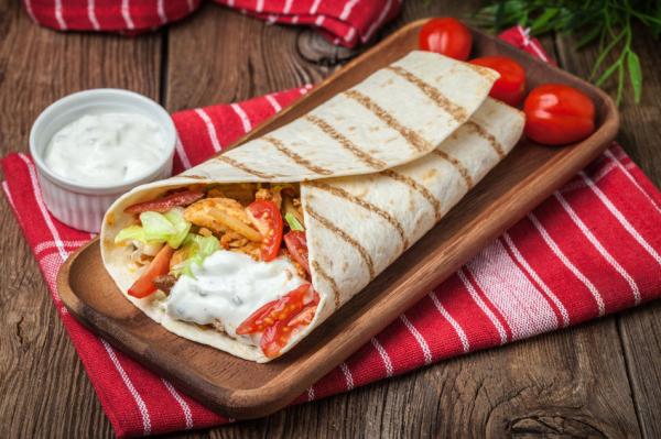 Csirke gyros pitában - Egészségséfünk receptje