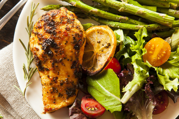 Gyömbéres grillezett csirkemell - Egészségséf