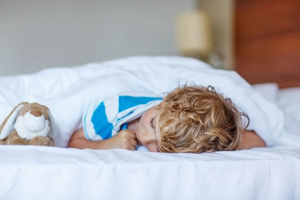 Buta lesz a gyerek, ha nem rendszeres az alvás