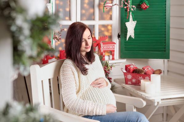 Karácsonyi örömök babavárás alatt is