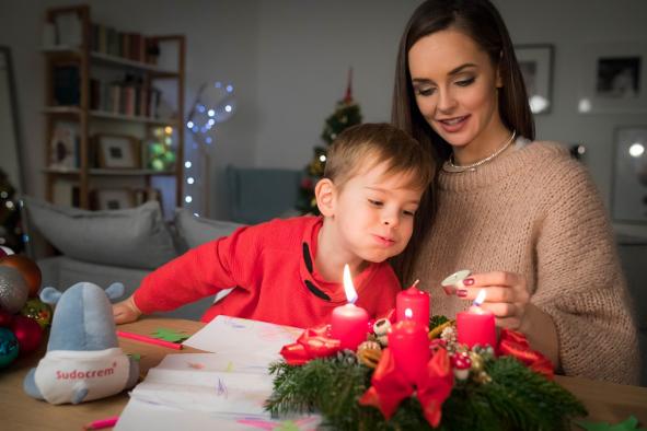 Sztárkarácsony: Dobó Ági szépségkirálynő