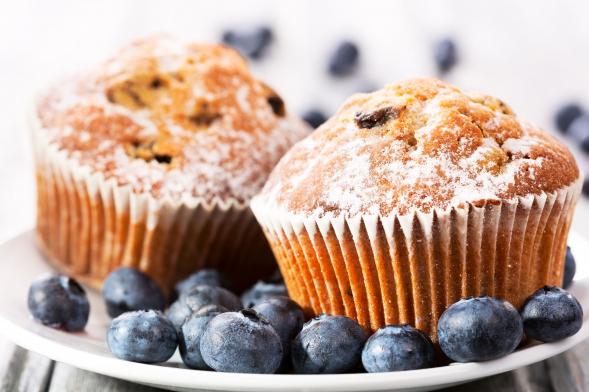 Egy áfonyás muffin, egész napi cukorbevitel