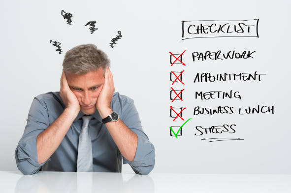 A stressz tünetei hosszú ideig észrevétlenek