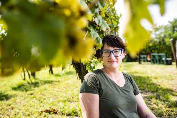 """Csetvei Krisztina: """"Én nem iszom a bort, hanem kóstolom"""""""