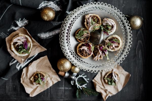 Szilveszteri étkek: Fűszeres lencse sertéshússal