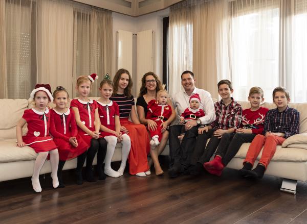 Karácsony tíz gyerekkel