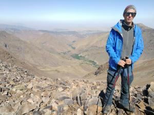 A tüdőtranszplantált, aki hegyeket mászik