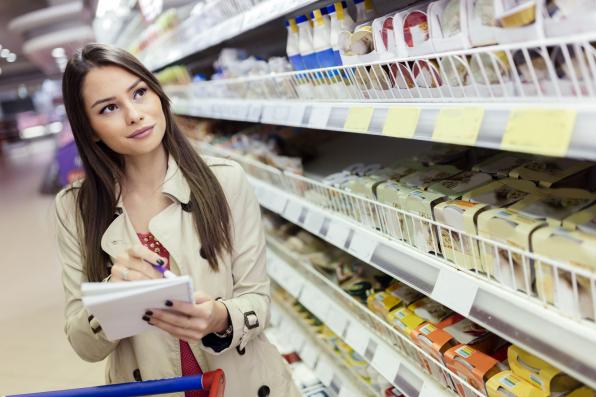 Ajánlott bevásárlólistát készíteni