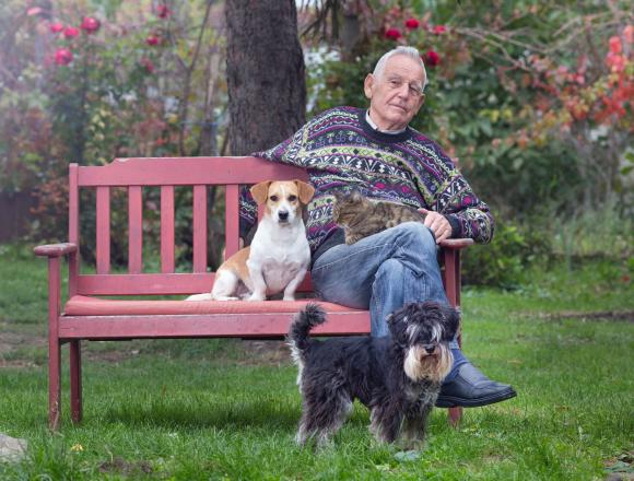 A háziállatok segítenek a bezártság elviselésében