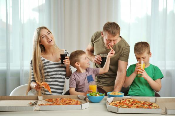 A karantén alatt a gyerekek többet ettek