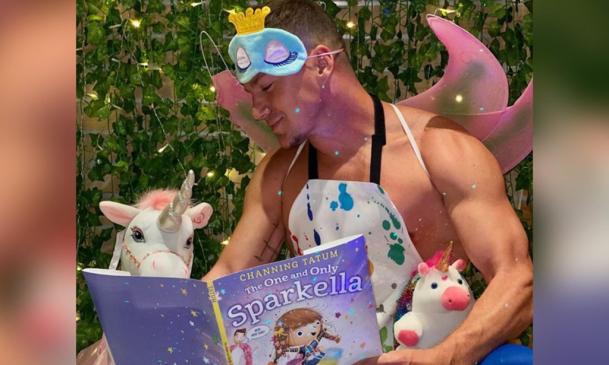 Channing Tatum gyermek könyvet írt