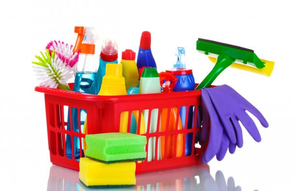 Nagytakarítás, veszélyes tisztítószerek