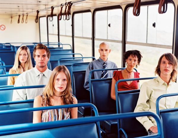Hol ülsz a buszon? Megmondom, ki vagy!