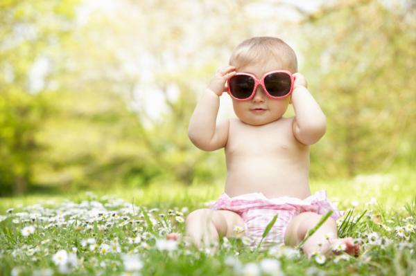 A babáknak is fontos a friss levegő!