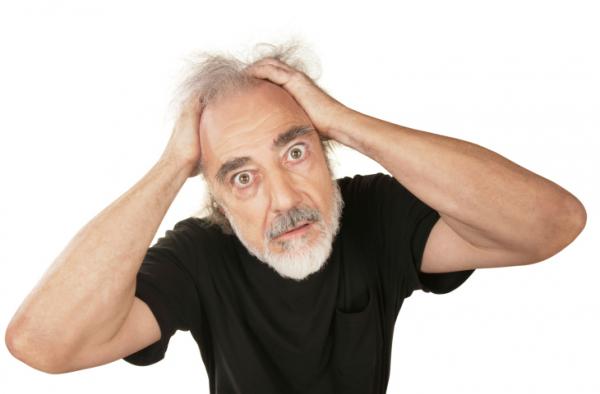 Az őszülés és a hajhullás, mint a stressz mellékhatásai