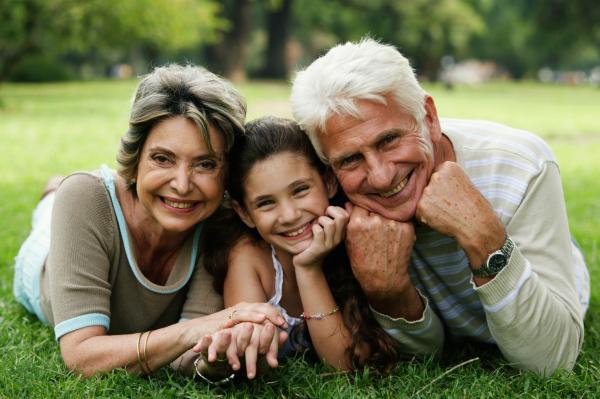 Nagyszülők a családban