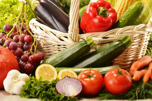 Minél színesebb a zöldség, gyümölcs, annál jobb!