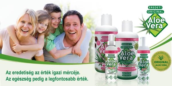 A jótékony Aloe Vera
