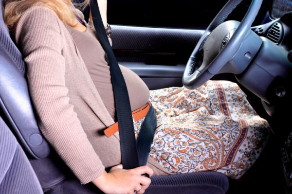 A terhes nők többször karamboloznak