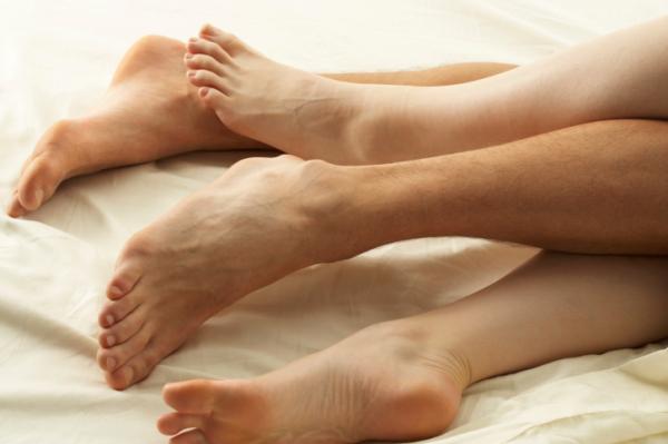 Mit árul el a lába az erekciójáról? - Az emberi test