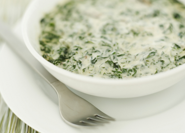 Fokhagymás-tejszínes spenót - Egészségséfünk receptje