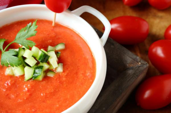 Gazpacho – a hideg zöldségleves receptje