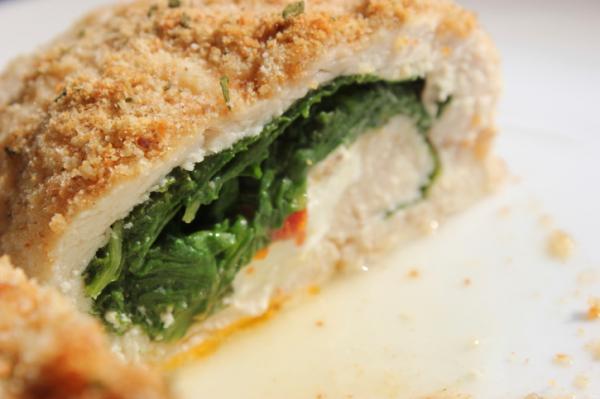 Spenótos-fetás csirkemell - Egészségséfünk receptje