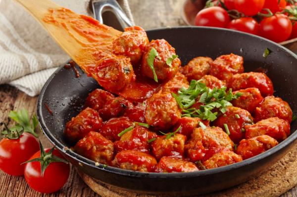 Paradicsomos húsgombóc - Egészségséfünk receptje