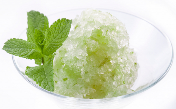 Mentás citromsorbet - Egészségséfünk receptje